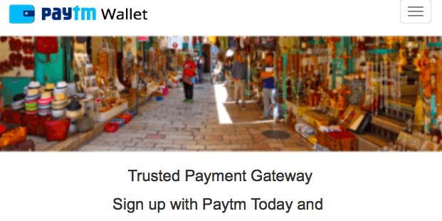 Paytm Gateway - online payment gateways for WordPress
