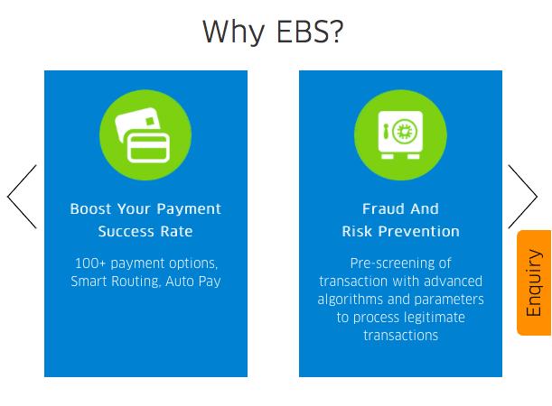 EBS - online payment gateways for WordPress